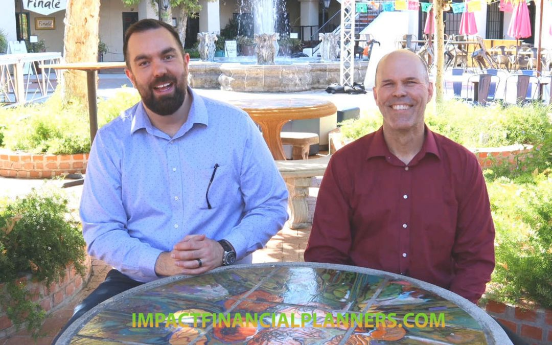 Impact Financial Planners' Financial Advisors Bill Holliday, CFP and Jason Pfau, Wealth Manager