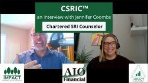 CSRIC Chartered SRI Counselor